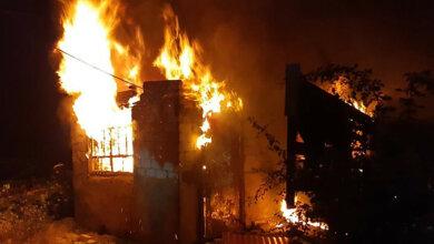 В Корабельном районе ночью горел дом | Корабелов.ИНФО