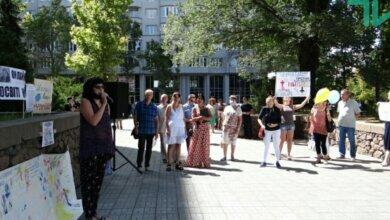 «Лже-карантин не пройдет!», - в Николаеве протестовали против онлайн-обучения (Видео) | Корабелов.ИНФО image 1
