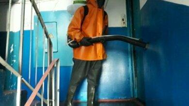 Спасатели продезинфицировали дома в Корабельном районе от коронавируса   Корабелов.ИНФО