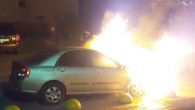 Ночью в Броварах неизвестные подожгли автомобиль программы «Схемы» | Корабелов.ИНФО