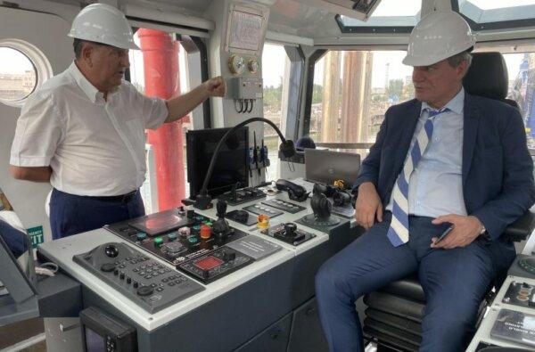 """Вице-премьер Украины посетил завод """"Океан"""" и ознакомился с возможностями предприятия   Корабелов.ИНФО"""