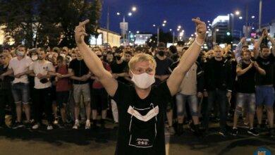 Баррикады и столкновения. Вторая ночь протестов в Беларуси (ФОТО, ВИДЕО)   Корабелов.ИНФО image 6