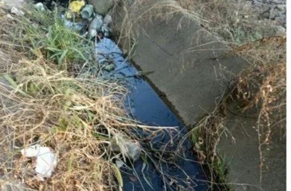 Канализационные стоки текут в реку на пляже в Корабельном районе   Корабелов.ИНФО