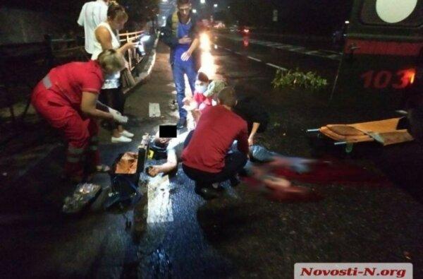 В Николаеве автомобиль сбил человека и скрылся — пострадавшему оторвало обе ноги | Корабелов.ИНФО