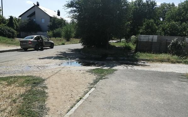 канализация на ул. Тернопольской