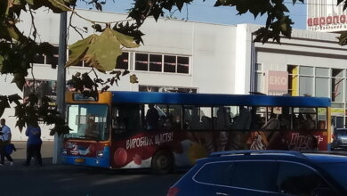 автобус №83 в Корабельном районе