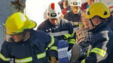 Photo of Во время демонтажа киоска в Николаеве бетонная плита упала на рабочего