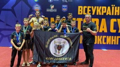 Photo of Юные николаевцы завоевали 30 медалей Всеукраинской Брилиантовой супер-серии по Кикбоксингу WKA