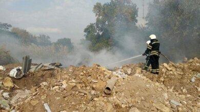 Photo of В Корабельном районе горела стихийная свалка площадью 1000 кв.м.