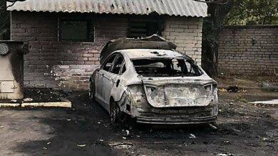Photo of Ночью в Николаеве сожгли автомобиль кандидата в депутаты от «Слуги народа»