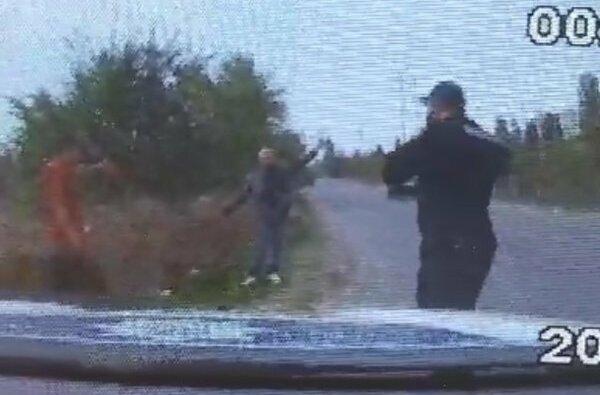 Видео: как мужчина пытался сжечь своего работодателя в Корабельном районе | Корабелов.ИНФО