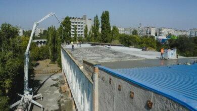 крыши Дворца спорта «Трудовые резервы»