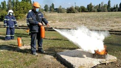 Photo of На ДП «СК «Ольвія» пройшли навчання щодо дій під час пожежі