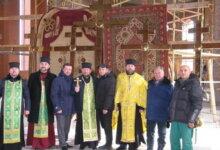 Photo of До освячення накупольних хрестів храму долучився голова Корабельного району
