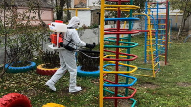 Photo of Рятувальники в Корабельному районі продезинфікували об'єкти із масовим перебуванням людей