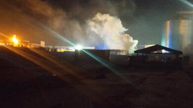 Photo of В портах Корабельного района горел строительный вагончик