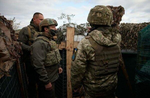 Зеленский на передовой: Освободим Донбасс, как Украину от нацистов | Корабелов.ИНФО