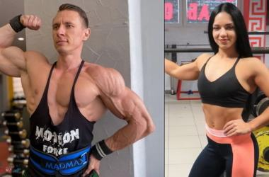 Юрий Гайдук и Александра Тарасова
