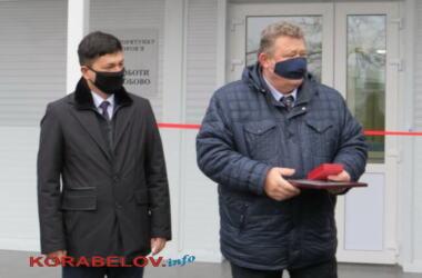 глава Николаевской ОГА Виталий Ким и директор НГЗ Виктор Кожевников