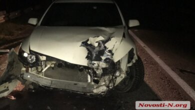 Под Николаевом столкнулись фура и «Акура» - пострадала женщина и 2-летний ребенок   Корабелов.ИНФО image 1