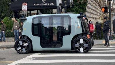 """""""Amazon"""" представил «Роботакси» - беспилотный электромобиль без кабины для водителя   Корабелов.ИНФО image 1"""