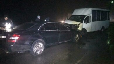 В Николаевской области столкнулись Mercedes и Рута – пострадали четверо взрослых и восьмилетний ребенок   Корабелов.ИНФО