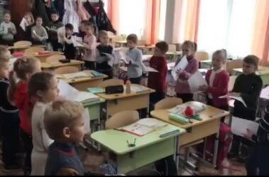 1-Б кл. Николаевской школы №48 (декабрь 2020)
