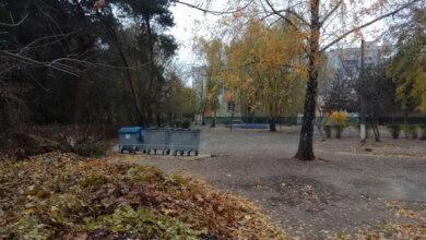 территория Николаевского детсада №140 (01.12.2020)
