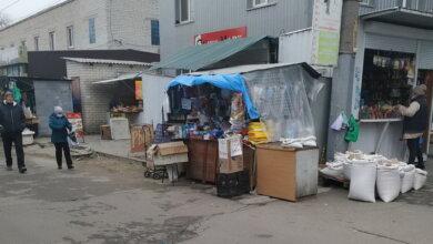 рынок в Корабельном районе Николаева