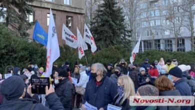 «Умрёт бизнес и экономика»: в Николаеве ФОПы протестуют против жесткого карантина (Видео) | Корабелов.ИНФО image 4