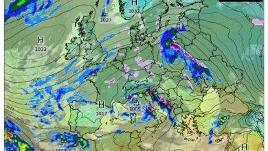 К Украине приближается циклон «Ахмед»: осадки ожидаются и на Николаевщине   Корабелов.ИНФО