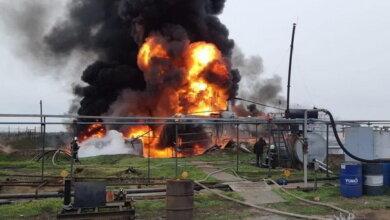 Масштабна пожежа на нафтобазі у Вітовському районі Миколаївської області   Корабелов.ИНФО image 1