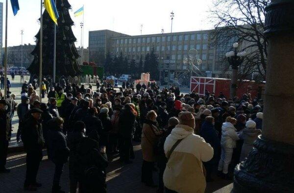 В Николаеве протестовали против повышения тарифов   Корабелов.ИНФО image 1