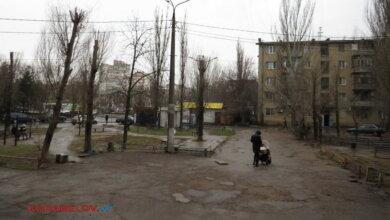 двор между общежитиями по пр. Богоявленскому, 340 и 340/1 в Николаеве