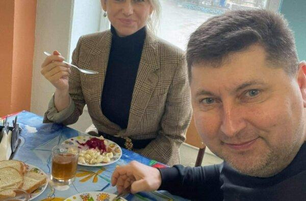 «Слуги народа» поели в школьной столовой Корабельного района   Корабелов.ИНФО