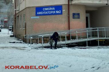 семейная амбулатория №2 в Корабельном районе г. Николаева