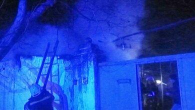 В Корабельном районе Николаева горела летняя кухня | Корабелов.ИНФО