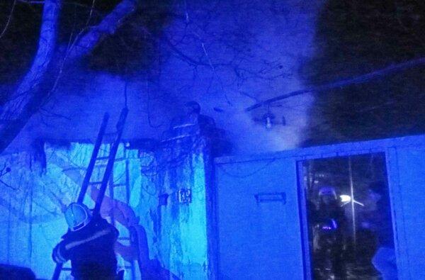 В Корабельном районе Николаева горела летняя кухня   Корабелов.ИНФО