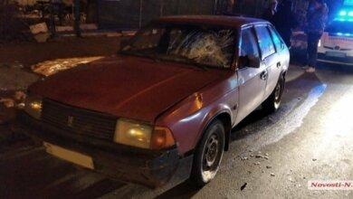 В Николаеве «Москвич» сбил на переходе пьяного пешехода   Корабелов.ИНФО