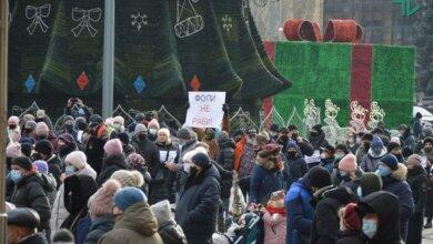 «ФОПЫ не рабы», - николаевские предприниматели снова протестовали против локдауна (Видео)   Корабелов.ИНФО