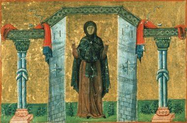 образ святой Мелании Римлянки