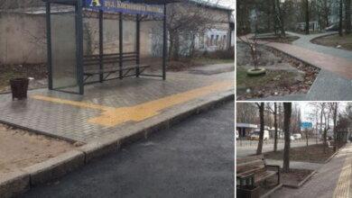 тротуары в Корабельном районе Николаева