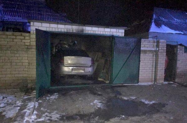В Корабельном районе ночью горел автомобиль Opel Vectra   Корабелов.ИНФО