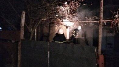 В селе Лупарево горел жилой дом | Корабелов.ИНФО