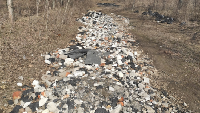 Парк в Корабельном районе начали засыпать строительным мусором | Корабелов.ИНФО image 3
