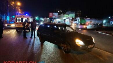 ДТП в Корабельном районе: автомобиль сбил девушку на пешеходном переходе   Корабелов.ИНФО