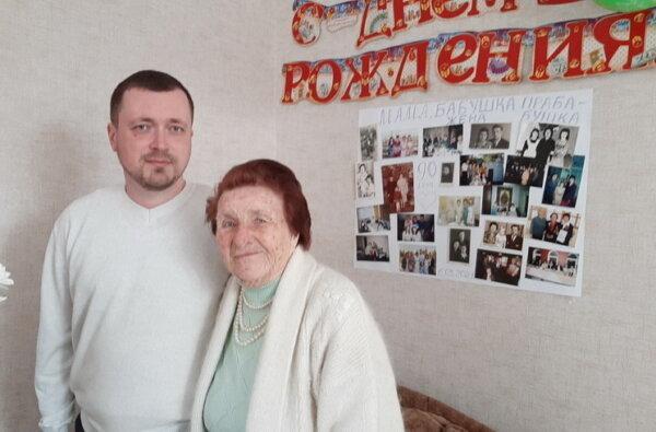 Мешканка Корабельного району Ганна Іванченко відзначила свій 90-річний ювілей | Корабелов.ИНФО