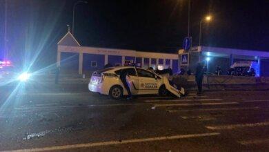Смертельное ДТП с патрульными: в машине были подполковник и еще трое полицейских (видео)   Корабелов.ИНФО