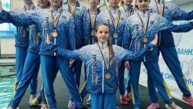 Николаевские спортсмены завоевали медали на чемпионате по синхронному плаванию   Корабелов.ИНФО