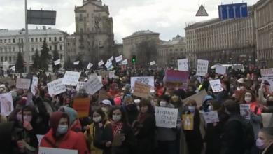 «У пандемии - женское лицо»: в Киеве проходит Женский марш с требованиями защиты их прав (Видео) | Корабелов.ИНФО